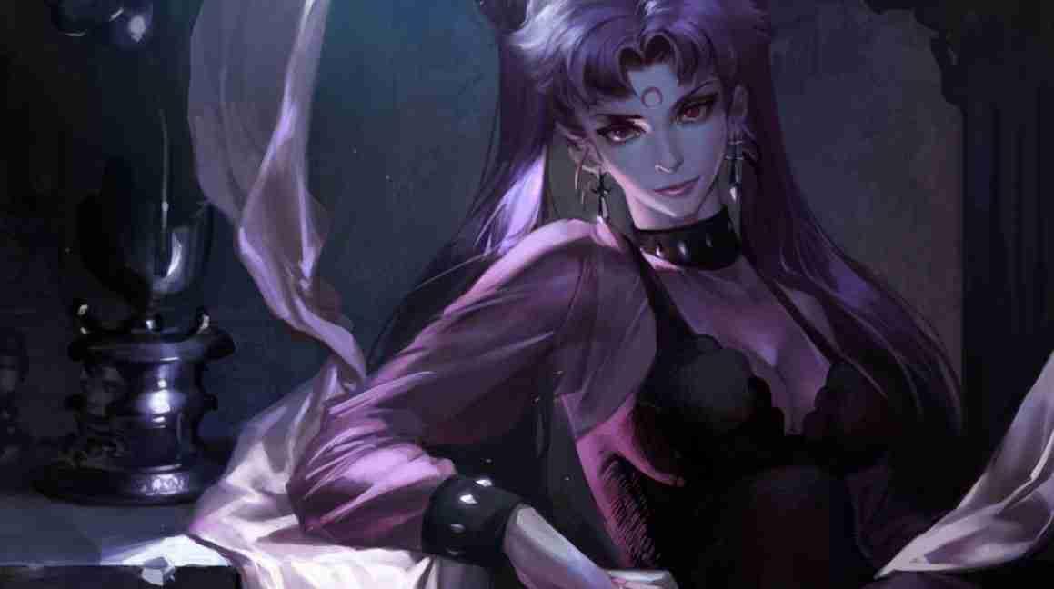 Beauty warrior Sailor moon